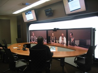 Professionally Speaking Trip report Cisco TelePresence rooms