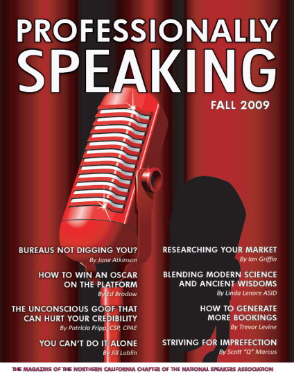 Professionally Speaking - Fall 2009