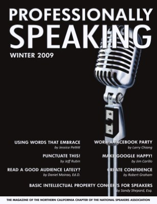 Professionally Speaking - Winter 2009