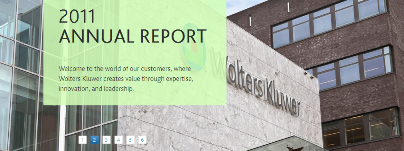 Wolters Kluwer 2001 Annual Report