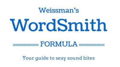 Weissman's Wordsmith Formula