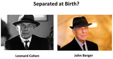 John Berger-Leonard Cohen