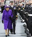The Queen in Purple