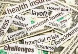 Tough economic headlines
