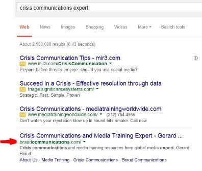Gerard Braud Google Search Result
