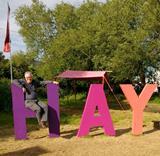 Hay Fesitval Sign